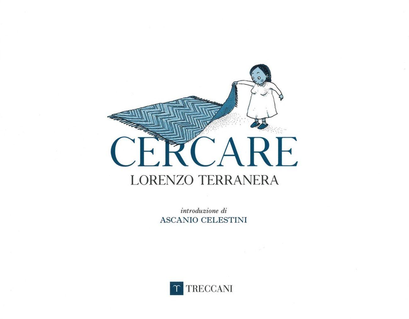 Lorenzo Terranera – Cercare (Treccani, Roma 2019). Cover