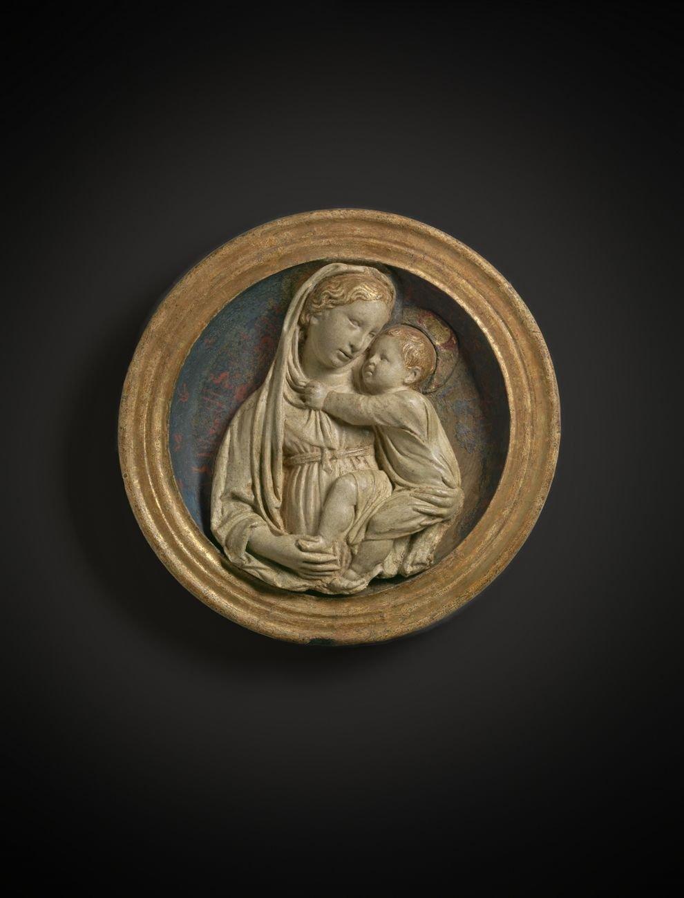 Luca della Robbia, Vergine col Bambino, 1440 ca.