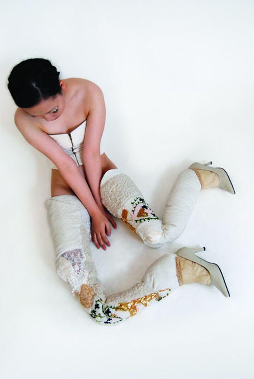 Mari Katayama, White legs, 2012
