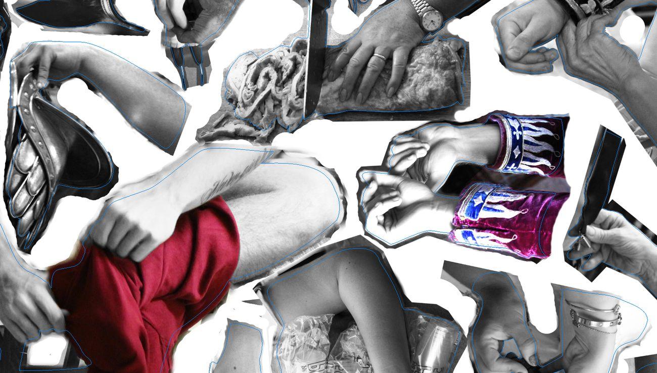 Marta Dell'Angelo, Collage vivant Siena 2018, 2018, IV edizione