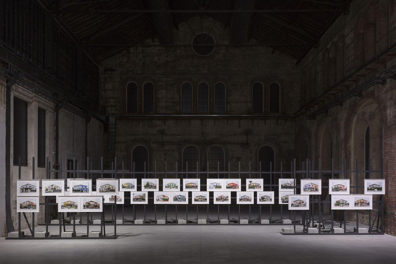 Monica Bonvicini, As Walls Keep Shifting, 2019. Installation view at OGR, Torino 2019. Photo Andrea Rossetti. Courtesy OGR Torino
