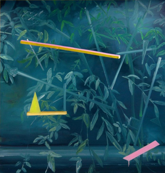 Marjolin De Wit, Untitled, 2010, oil on canvas, 200 x 190 cm. Courtesy Otto Zoo and the artist