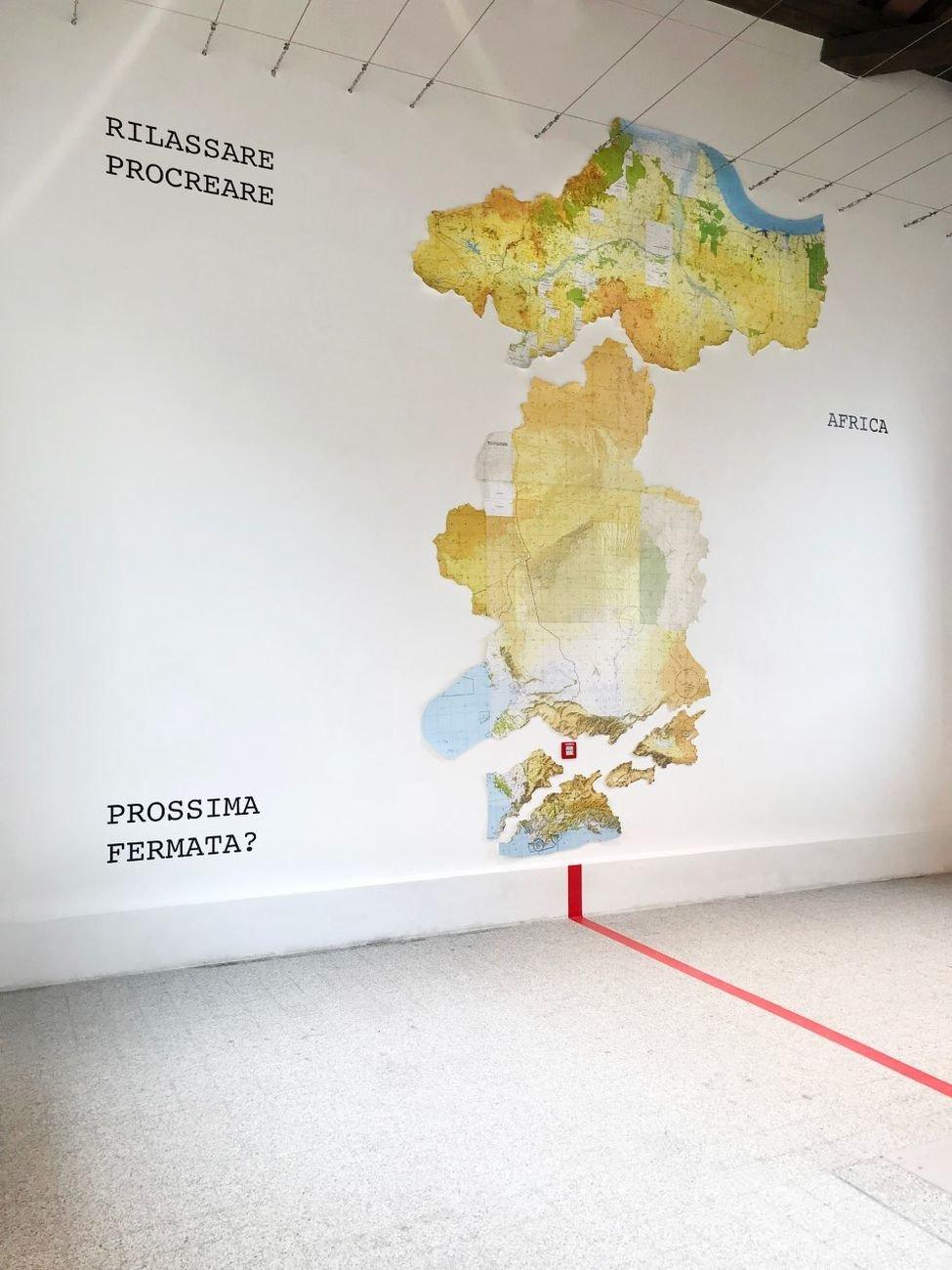 Peter Fend, Africa Arctic Flyway. Museo Nivola, Orani 2019. Courtesy of Lennart Wolff