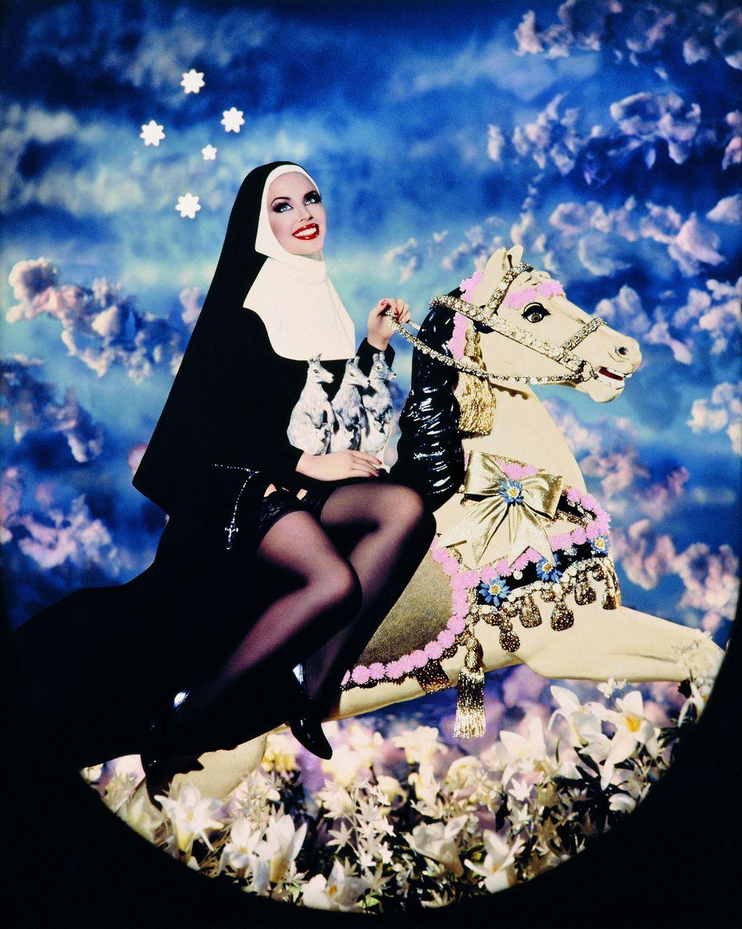 Pierre et Gilles, Sainte Mary MacKillop (Kylie Minogue), 1995. Collezione privata © Pierre et Gilles