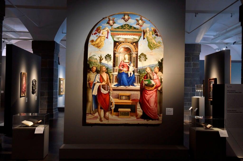 Pietro Aretino e l'arte nel Rinascimento. Installation view at Gallerie degli Uffizi, Firenze 2019. Courtesy Gallerie degli Uffizi