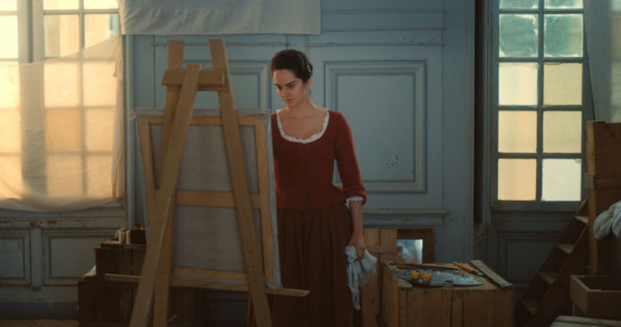 Portrait of a lady on fire cLilies Films MA A SON CHEVALET