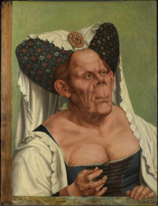 Quinten Massys. An Old Woman ('The Ugly Duchess'). © The National Gallery, London. Bequeathed by Miss Jenny Louisa Roberta Blaker, 1947.