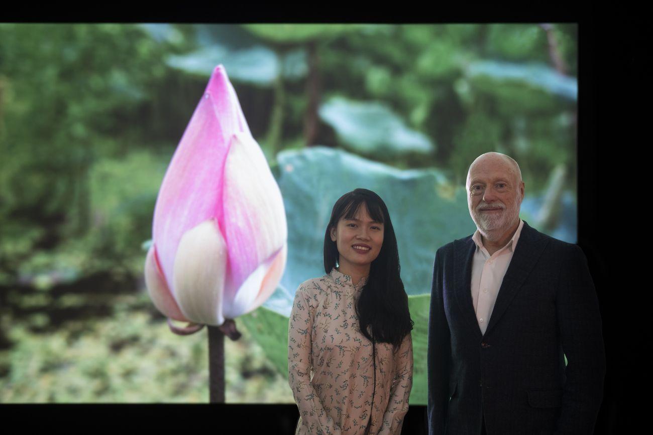 Thao Nguyen Phan & Han Nefkens. Photo Roberto Ruiz