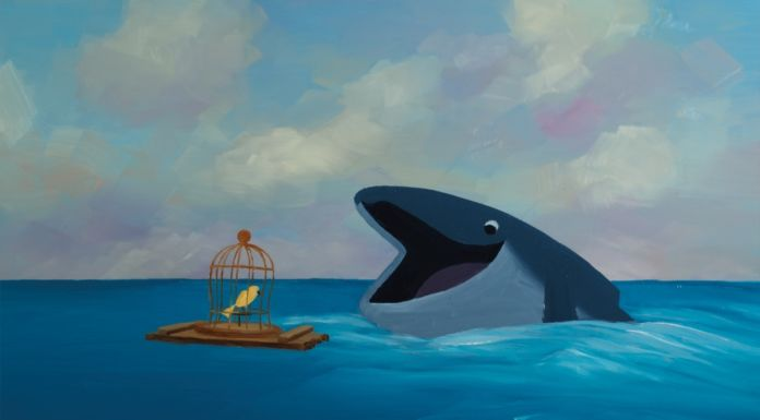 The Bird and the Whale - paperpanther_2019