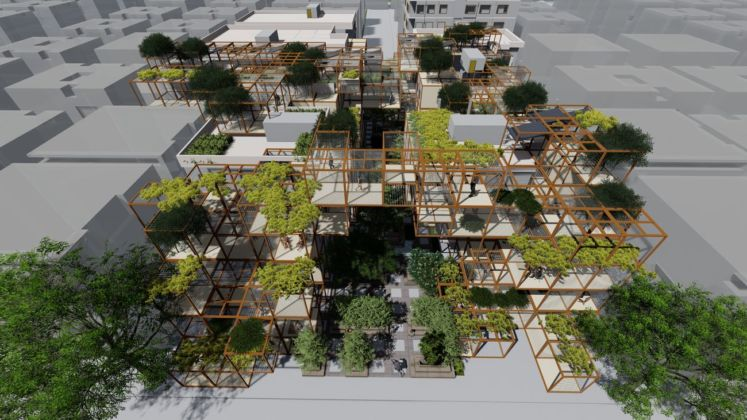 UABB ‒ Urbanism and Architecture Bi City Biennale of Hong Kong and Shenzhen 2019. Re Coding Post war Syria. When numbers meet Architecture and Culture Reparametrize Studio Digital Architects