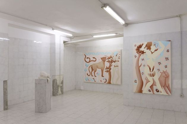 Viola Leddi. Lovable Creatures. Exhibition view at TILE project space, Milano 2019. Photo siliqoon agency