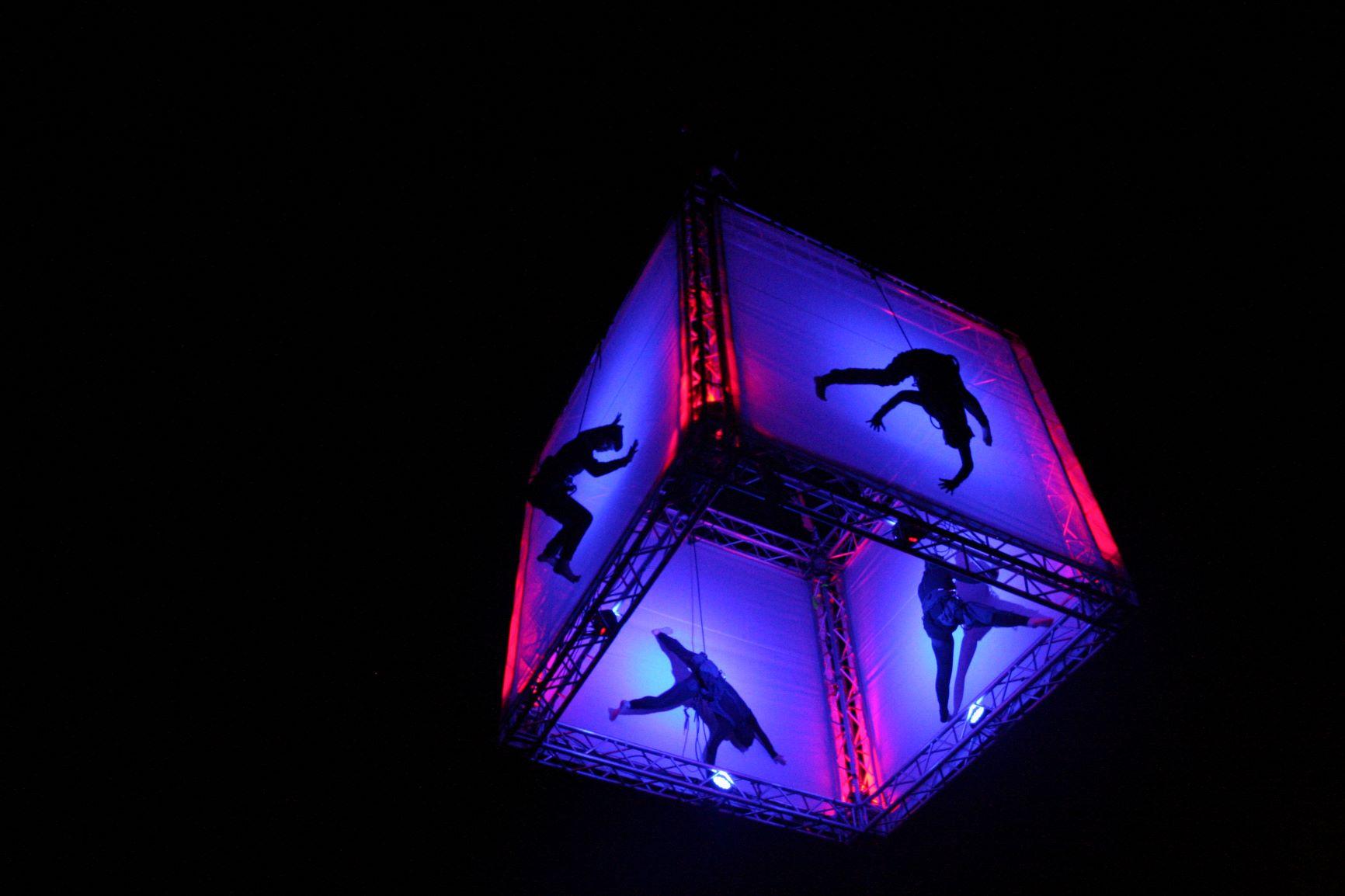 eVENTI VERTICALI - cubo