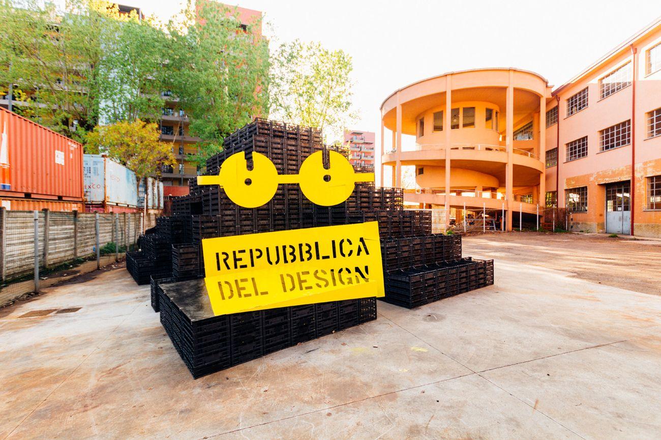#regeneration. Monumento del design. Courtesy Repubblica del Design