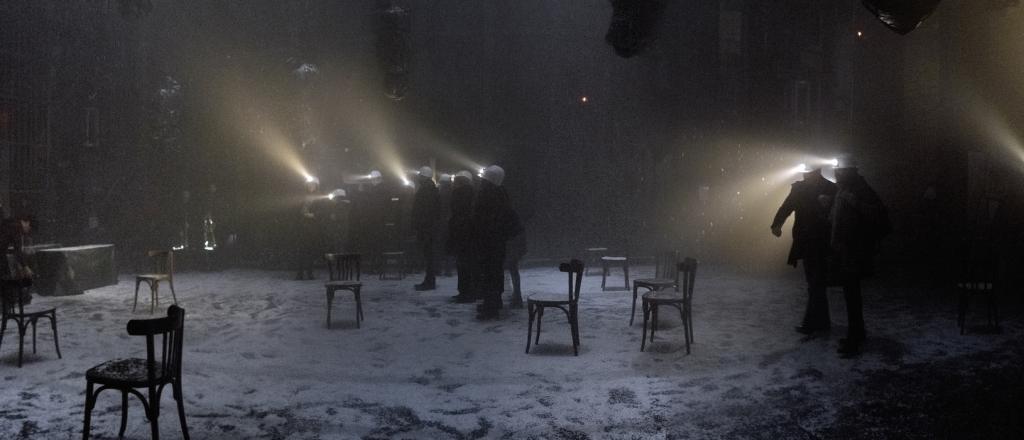 Christian Boltanski, Jean Kalman e Franck Krawczyk, Pleine Nuit, 2016. Photo Stefan Brion