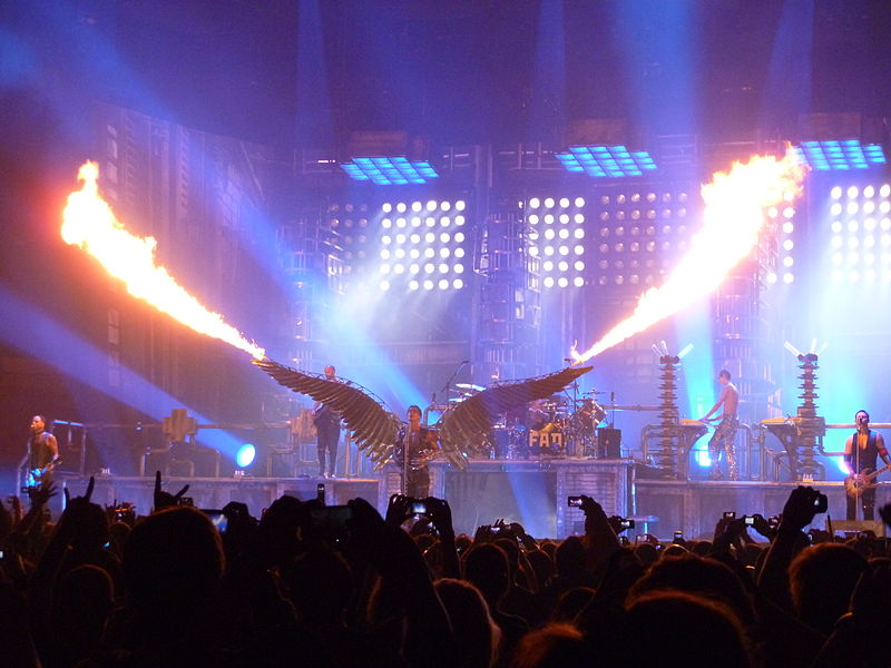 Rammstein Live at Madison Square Garden ph KinkESizemore fonte Wikimedia