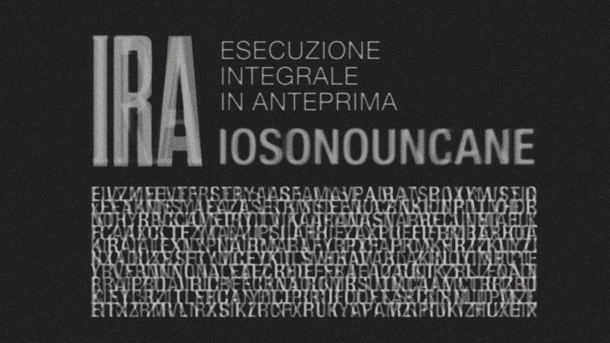 Iosonouncane - sito