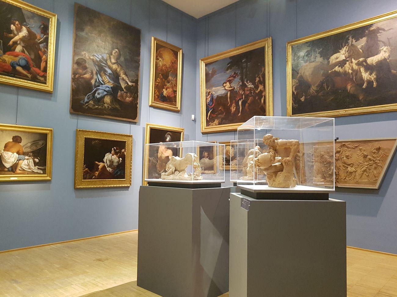 Accademia di San Luca a Roma. Il nuovo allestimento. Photo Donatella Giordano