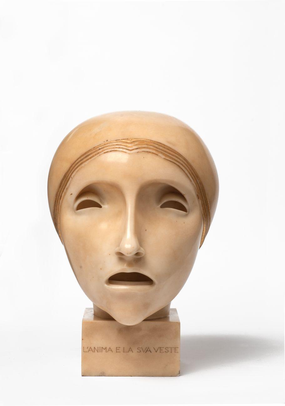Adolfo Wildt, L'anima e la sua veste, 1916. Collezione Vanni e Alina Scheiwiller, Milano