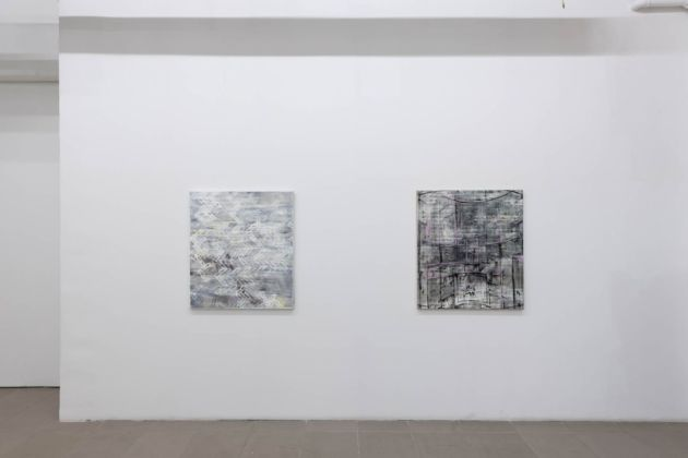 Alessandro Scarabello. I Still Paint (Recent Works 2017–2019). Exhibition view at The Gallery Apart, Roma 2020. Courtesy The Gallery Apart, Roma. Photo Giorgio Benni