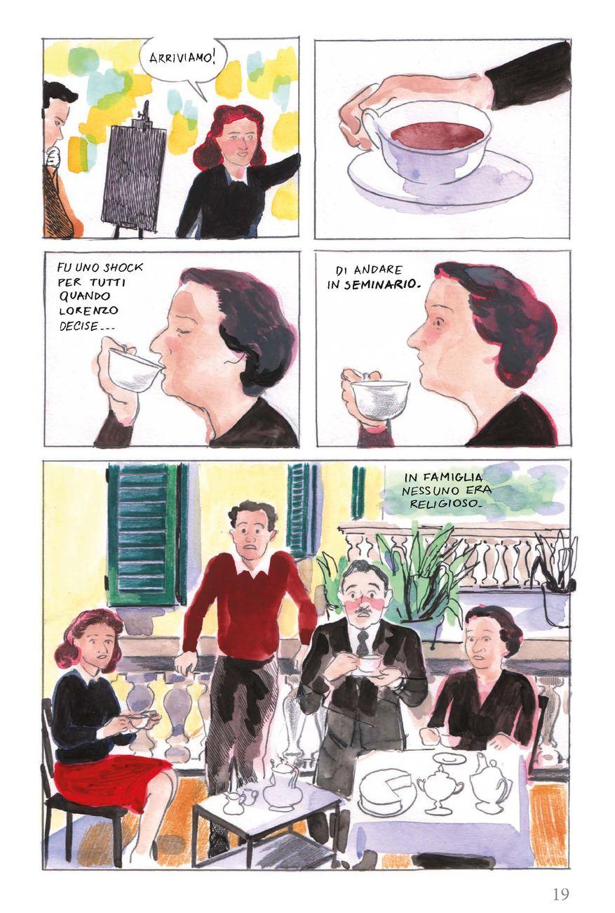 Alice Milani – Università e Pecore. Vita di don Lorenzo Milani (Feltrinelli Comics, Milano 2019)