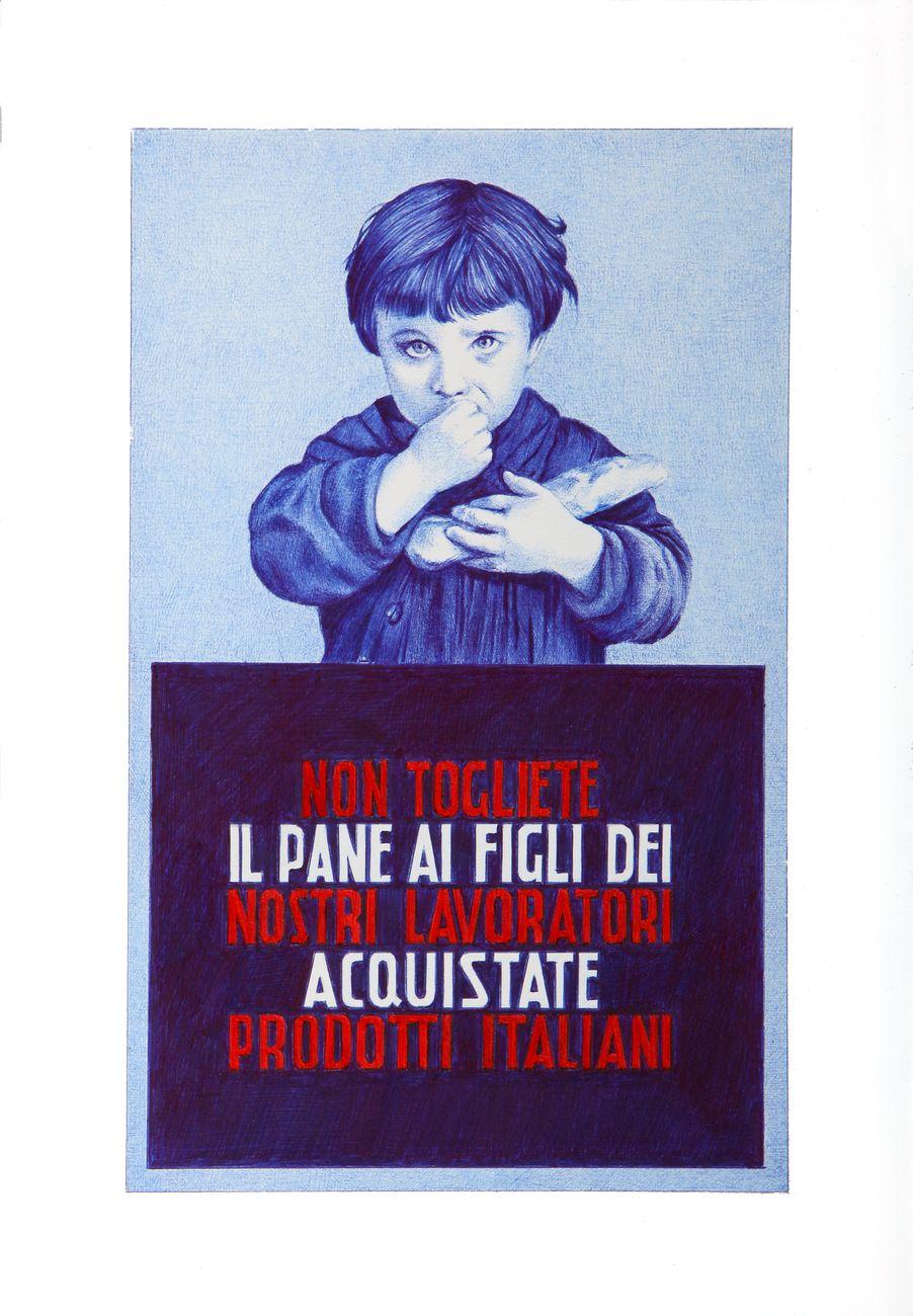 Cantiere Comune #2. Just Baby, Santa Maria della Scala, Siena 2019. Giuseppe Stampone, Pane amore e fantasia, 2015