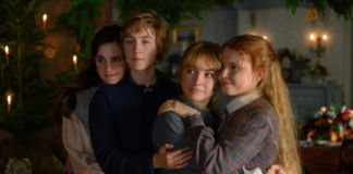 Emma Watson, Saoirse Ronan, Florence Pugh and Eliza Scanlen in Greta Gerwig's LITTLE WOMEN