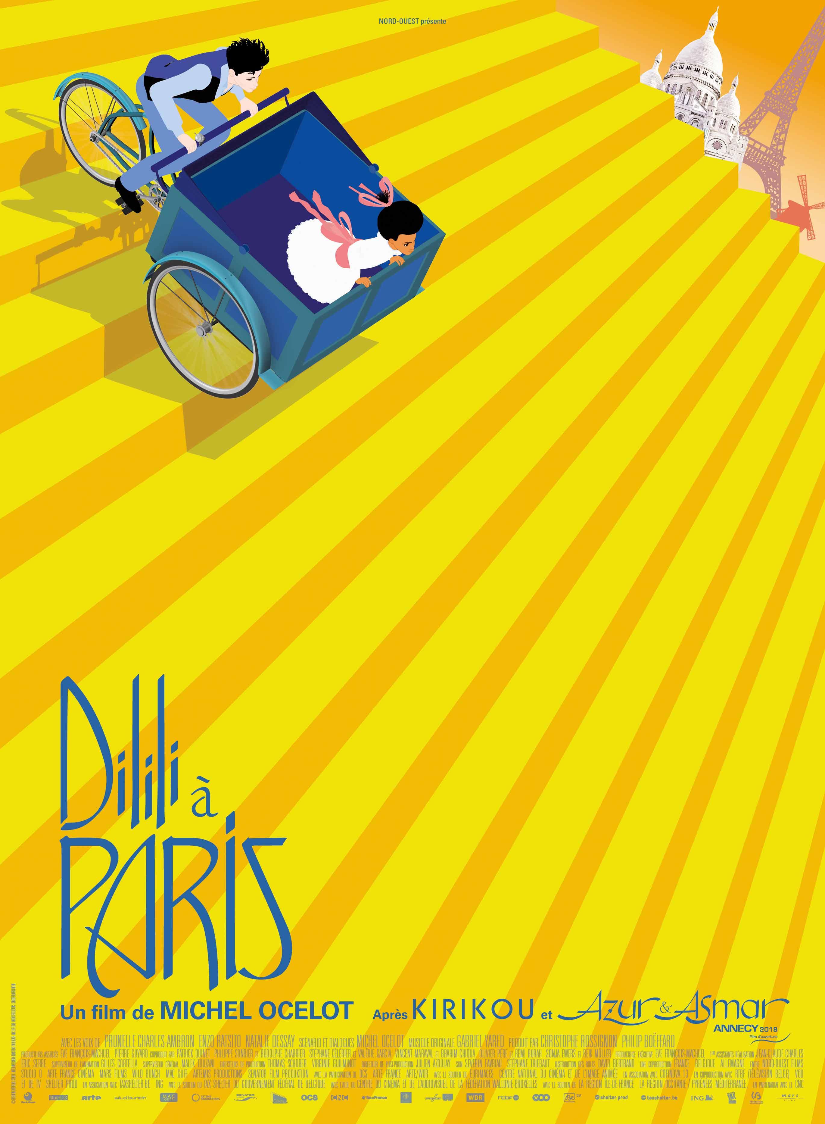 Dilili a Parigi di Michel Ocelot