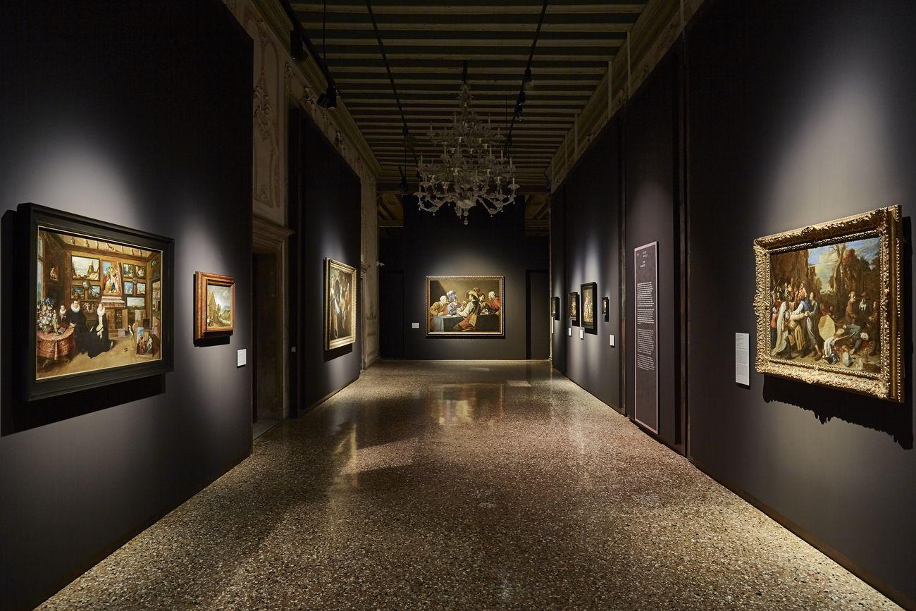 Da Tiziano a Rubens. Capolavori da Anversa e da altre collezioni fiamminghe. Exhibition view at Palazzo Ducale, Venezia 2019