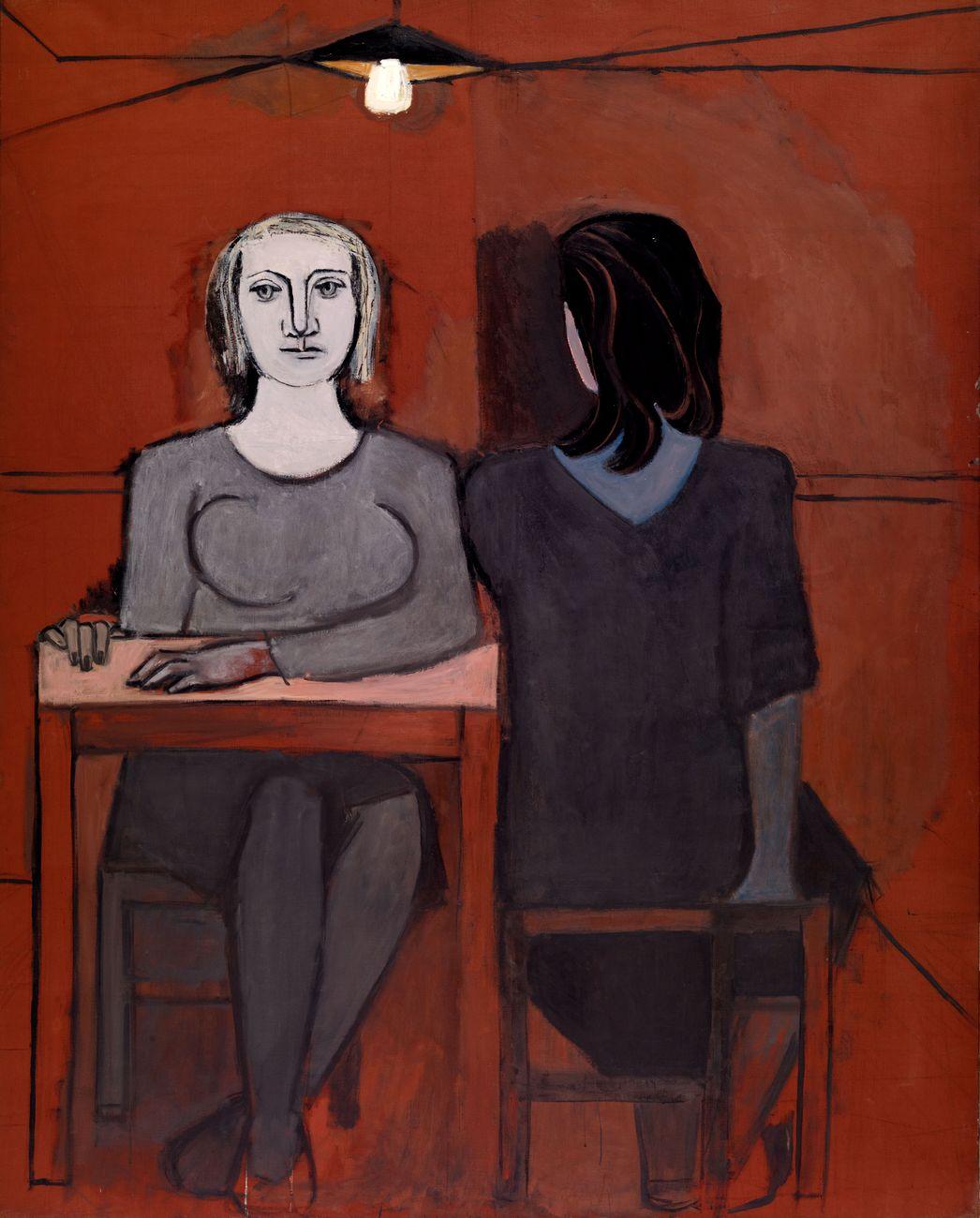 Dora Maar, The Conversation 1937. Fundación Almine y Bernard Ruiz-Picasso para el Arte, Madrid © FABA Photo Marc Domage © ADAGP, Paris and DACS, London 2019