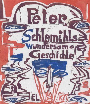 Ernst Ludwig Kirchner, Peter Schlemihl's Wondrous Story, title page, 1915. National Gallery of Art, Washington