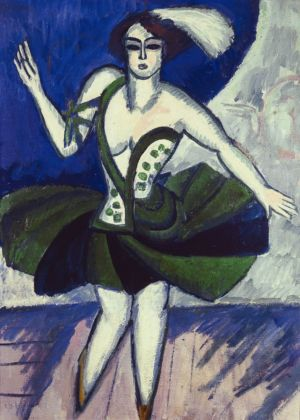 Ernst Ludwig Kirchner, The Russian Dancer Mela, 1911. Private Collection