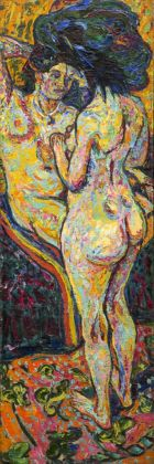 Ernst Ludwig Kirchner, Two Nudes, 1907. National Gallery of Art, Washington