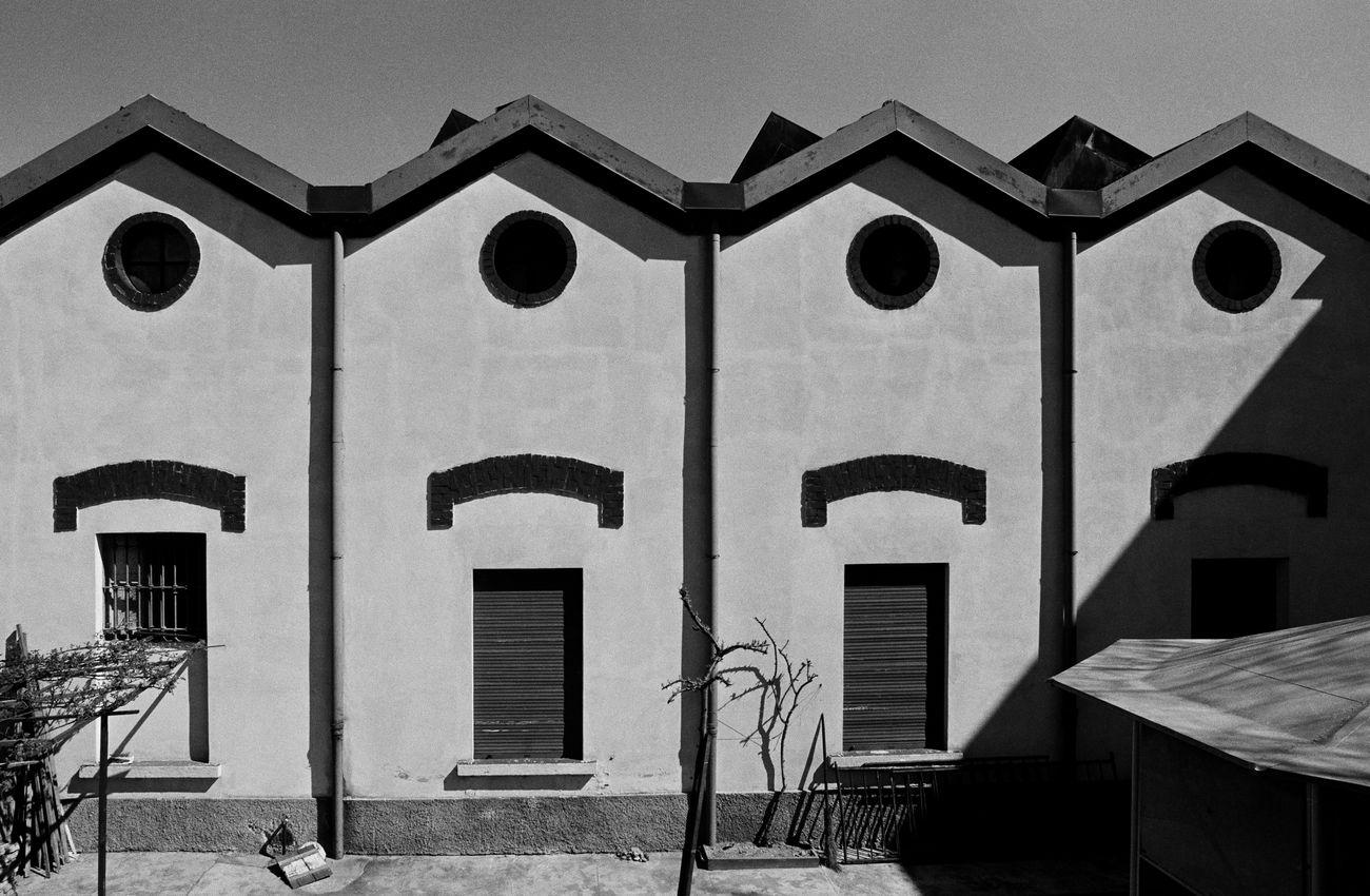 Gabriele Basilico, Milano ritratti di fabbriche, 1978. © Archivio Gabriele Basilico