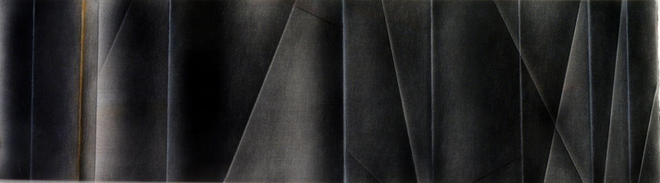 Guido Strazza, Partitura, 1978, tempera