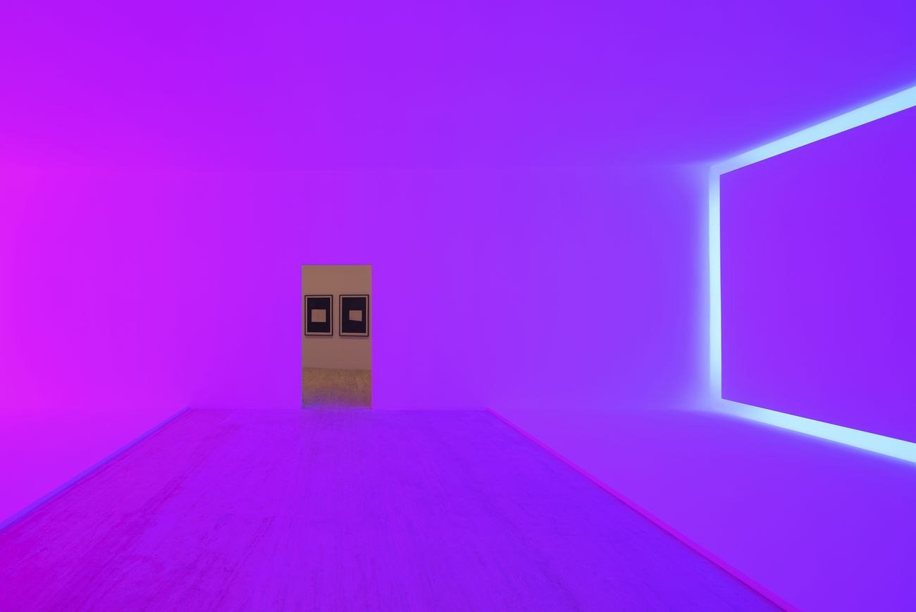 James Turrell. Pasajes de luz. Exhibition view at Museo Jumex, Città del Messico 2019 © James Turrell. Photo Florian Holzherr