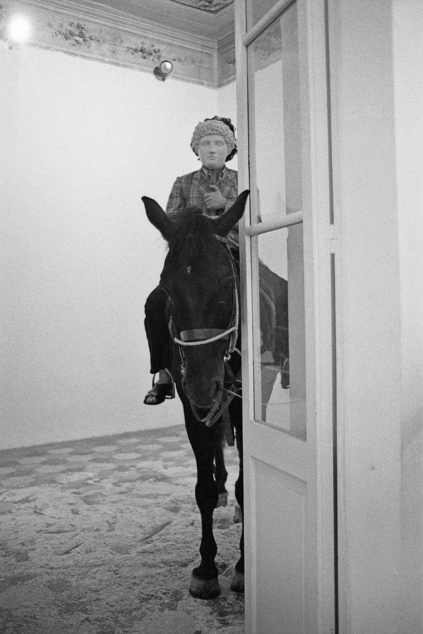 Jannis Kounellis. Photo Claudio Abate
