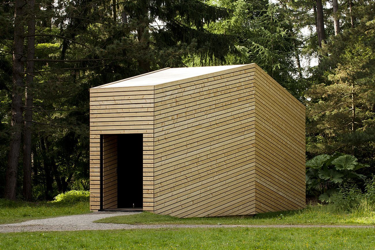 Johansen Skovsted Arkitekter, Annata House. Exhibition pavilion for artist Lea Porsager, dOCUMENTA 13, Kassel. Photo Anders Sune Berg