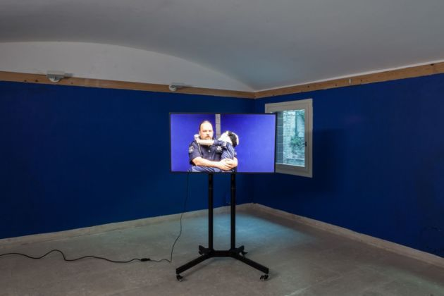 Liv Schulman, Polis Polis, 2018. Installation view at A plus A Gallery, Venezia 2020. Photo credits Angela Colonna