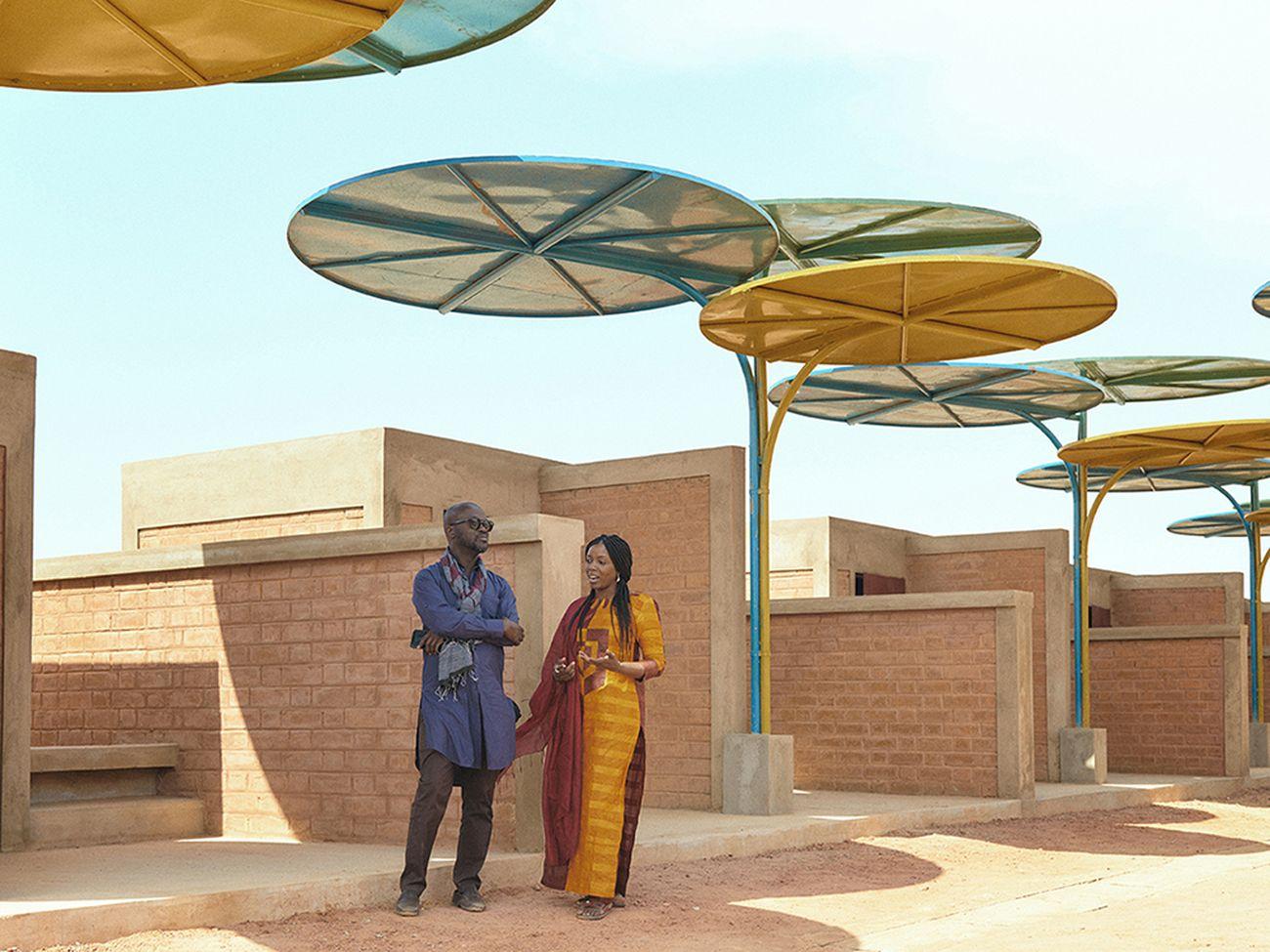 Mariam Kamara & David Adjaye © Rolex-Thomas Chéné