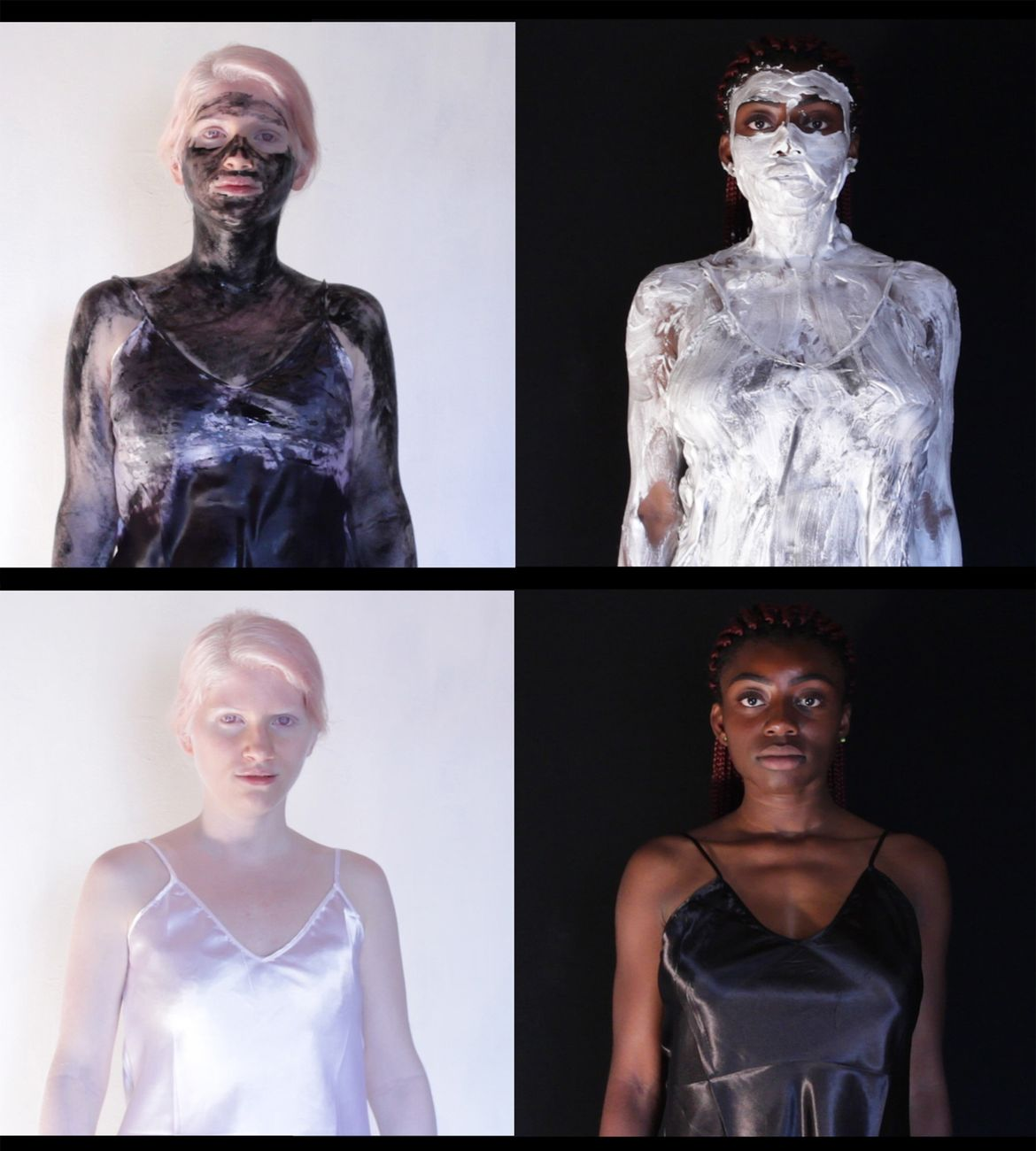 Martina Campanella, Nessun bianco o nero è trasparente, frame da video