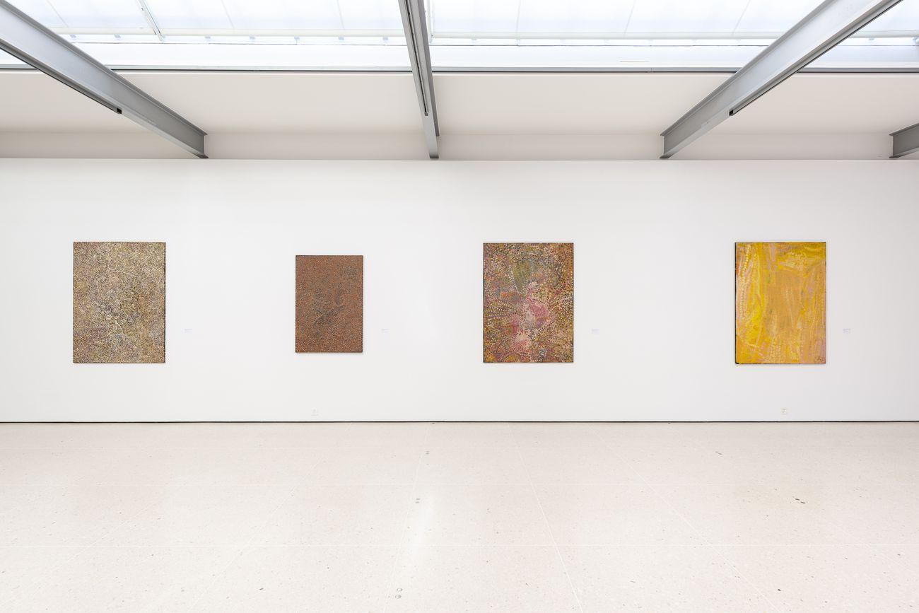 My Mother Country – Malerei der Aborigines. Exhibition view at Kunsthaus Zug, 2019. Photo © Jorit Aust