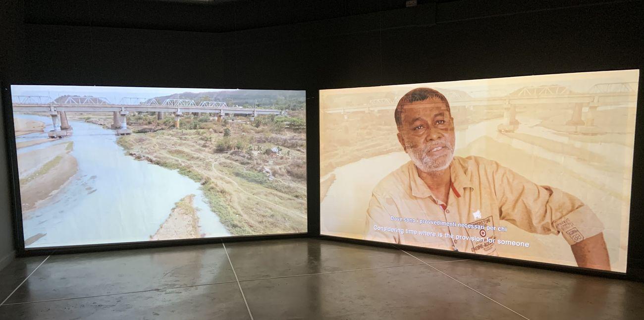 Navjot Altaf, Soul Breath Wind, 2014 18, exhibition view at PAV, Torino 2019