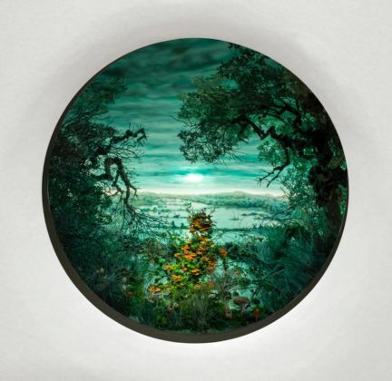 Patrick Jacobs, Blue Green Moonlight,2011. Courtesy The Pool NYC