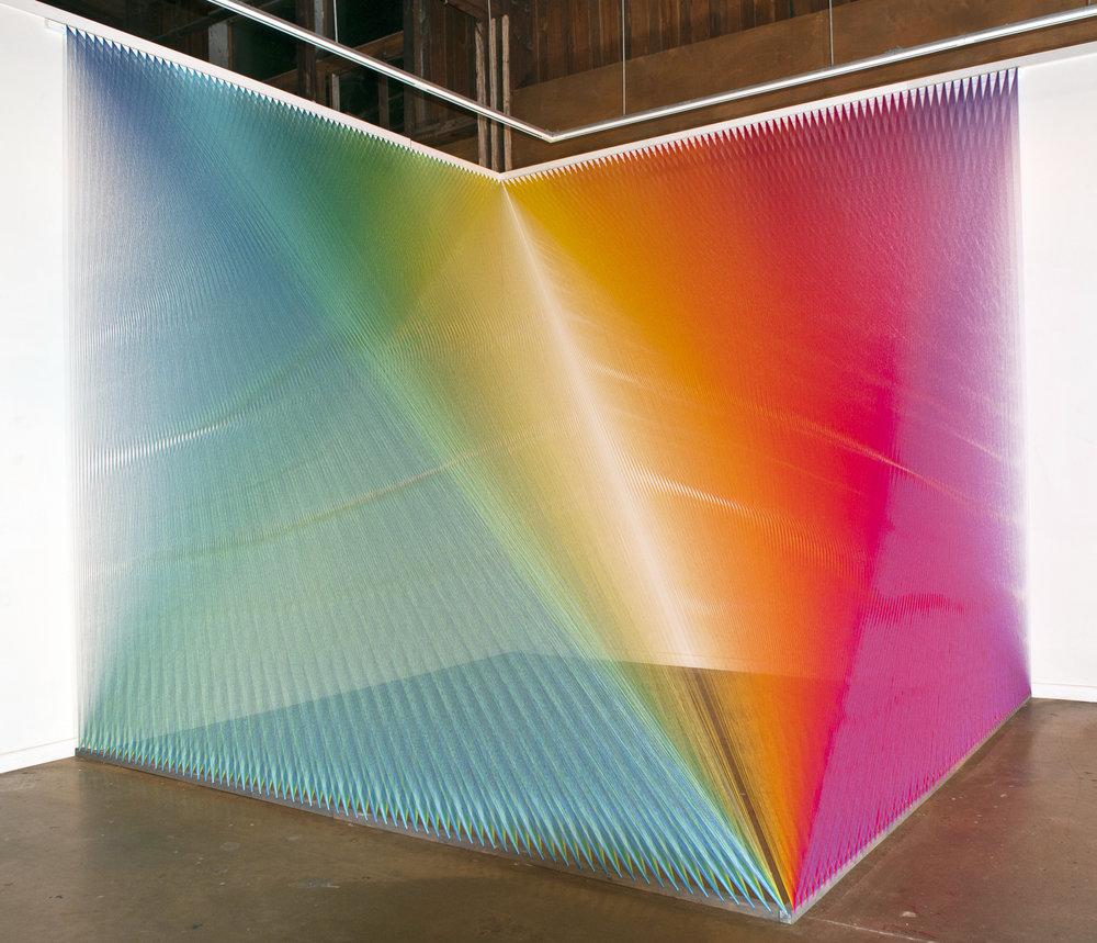 Gabriel Dawe, Plexus n.5 - Texas Biennal 2011