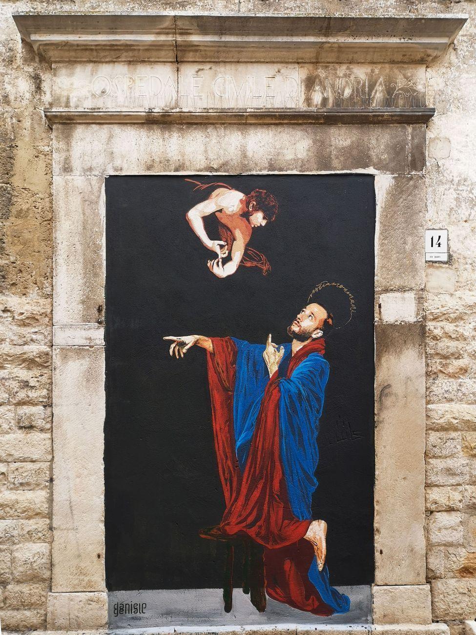 Restiamo umani, Andria, giugno 2019. Photo dell'artista