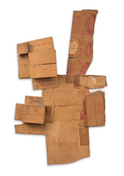 Robert Rauschenberg, Parsons' Live Plants Ammonia (Cardboard)