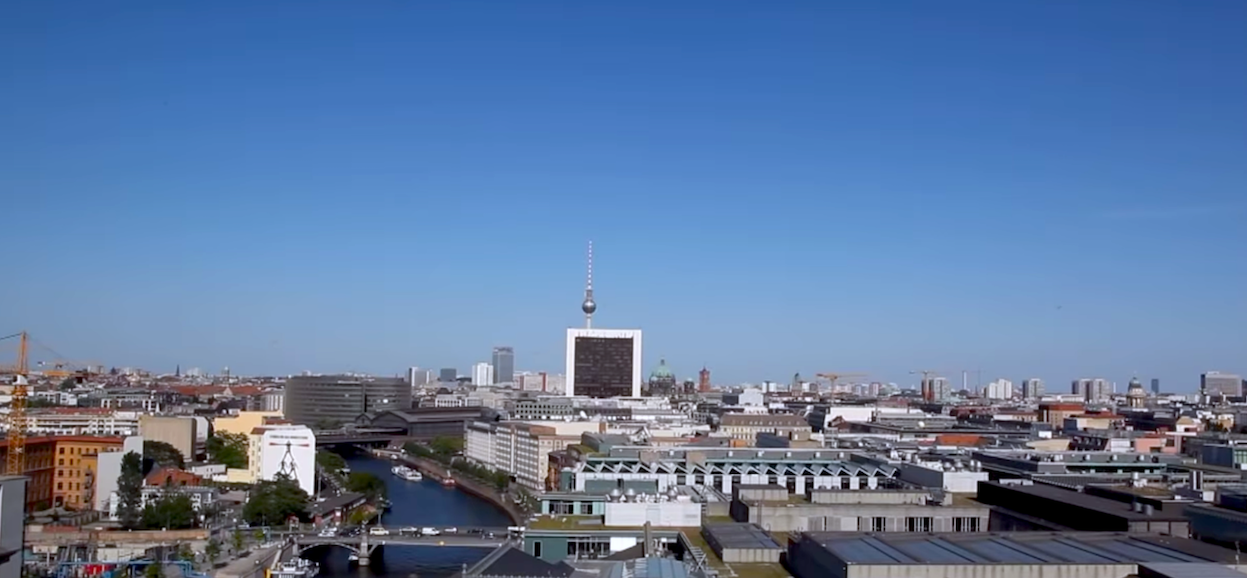 Veduta di Berlino