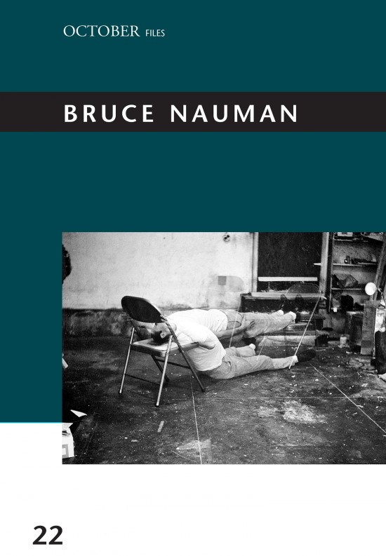 Taylor Walsh (ed.) – Bruce Nauman (The MIT Press, Cambridge (Mass.) 2018)