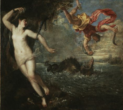 Titian, Perseus and Andromeda, probably 1554 – 1556 © The Wallace Collection, London Photo The National Gallery, London