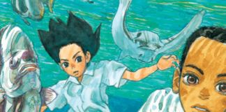 Un dettaglio Children of the sea, il manga di Daisuke Igarashi